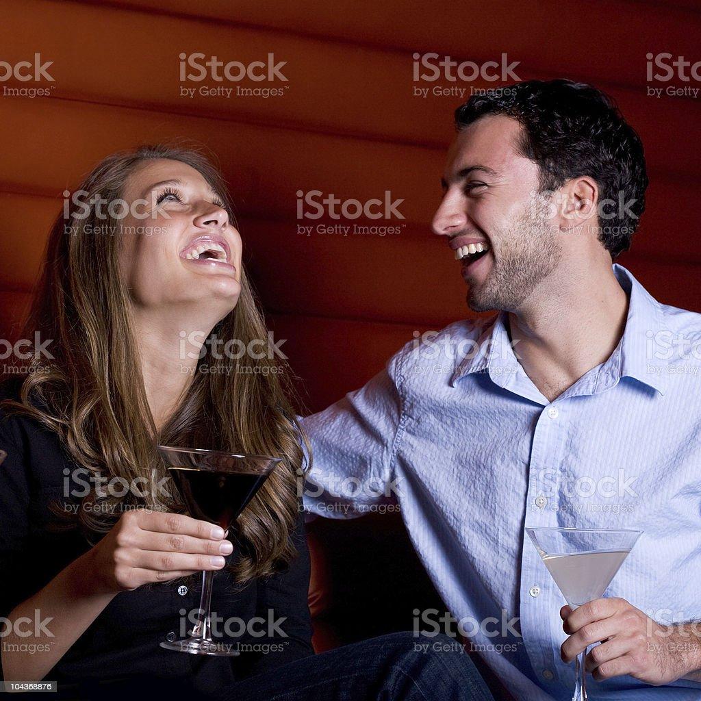 Sharing a laugh royalty-free stock photo