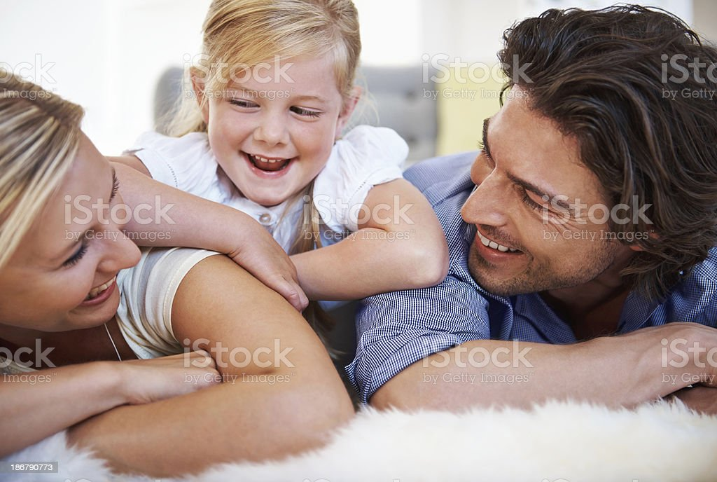 Sharing a moment royalty-free stock photo