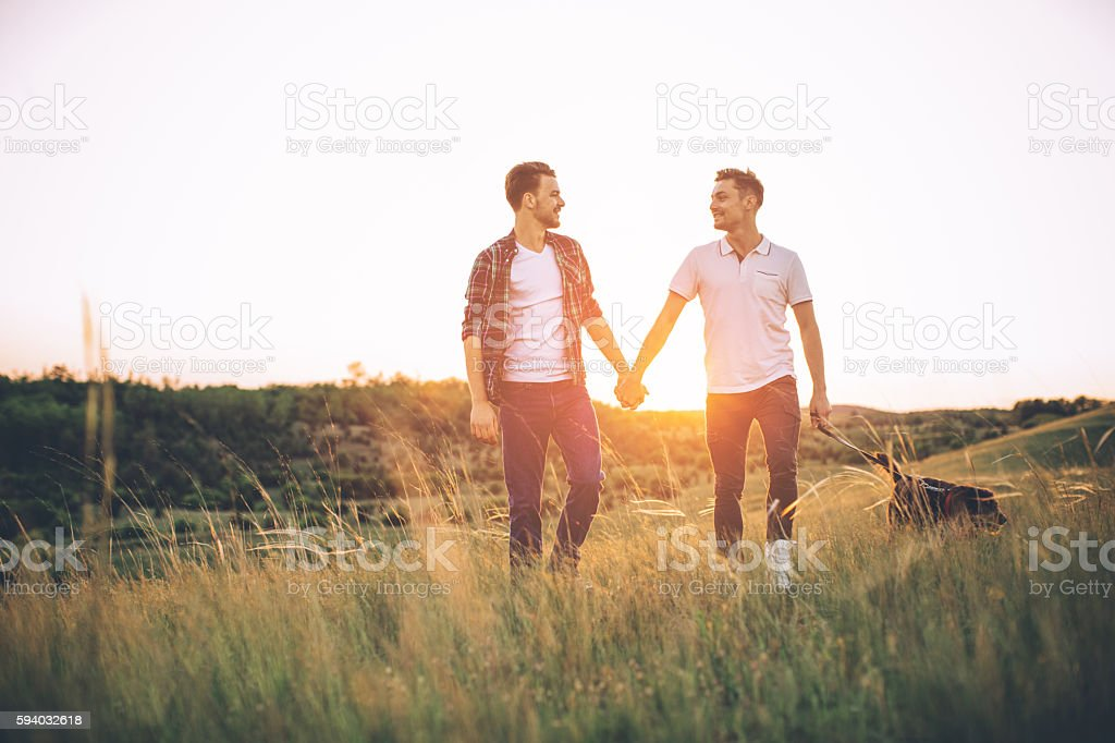 Sharing a special bond. stock photo