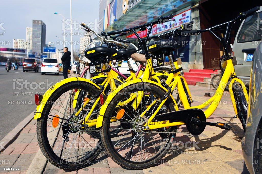 Partage de vélos - Photo