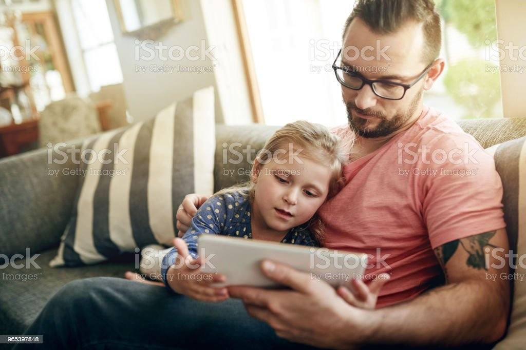 Sharing interests s what connects them royalty-free stock photo