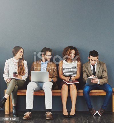 istock Sharing some pre-interview tips 858111416