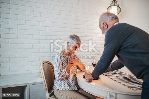 istock Sharing special times together 867212824
