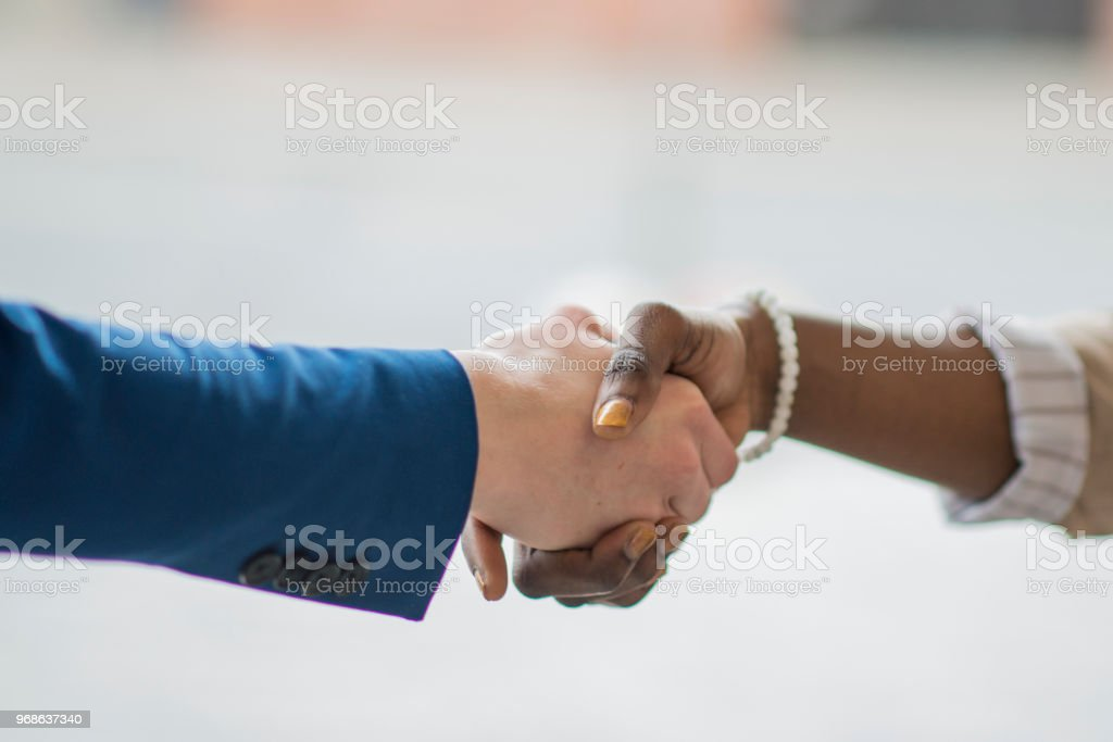 Sharing Success stock photo