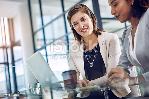 istock Sharing the goal, sharing the workload 672906404