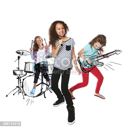 849362192istockphoto Sharing their musical talent 498744318