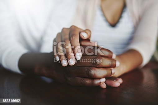 istock Sharing unconditional love and support 667816662
