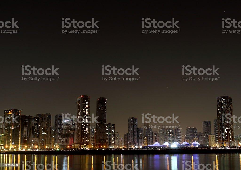 sharjah expo center foto de stock libre de derechos