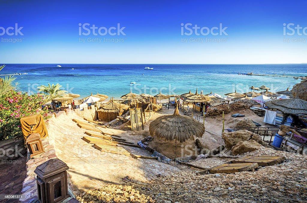 Sharm El Sheikh Coastline stock photo
