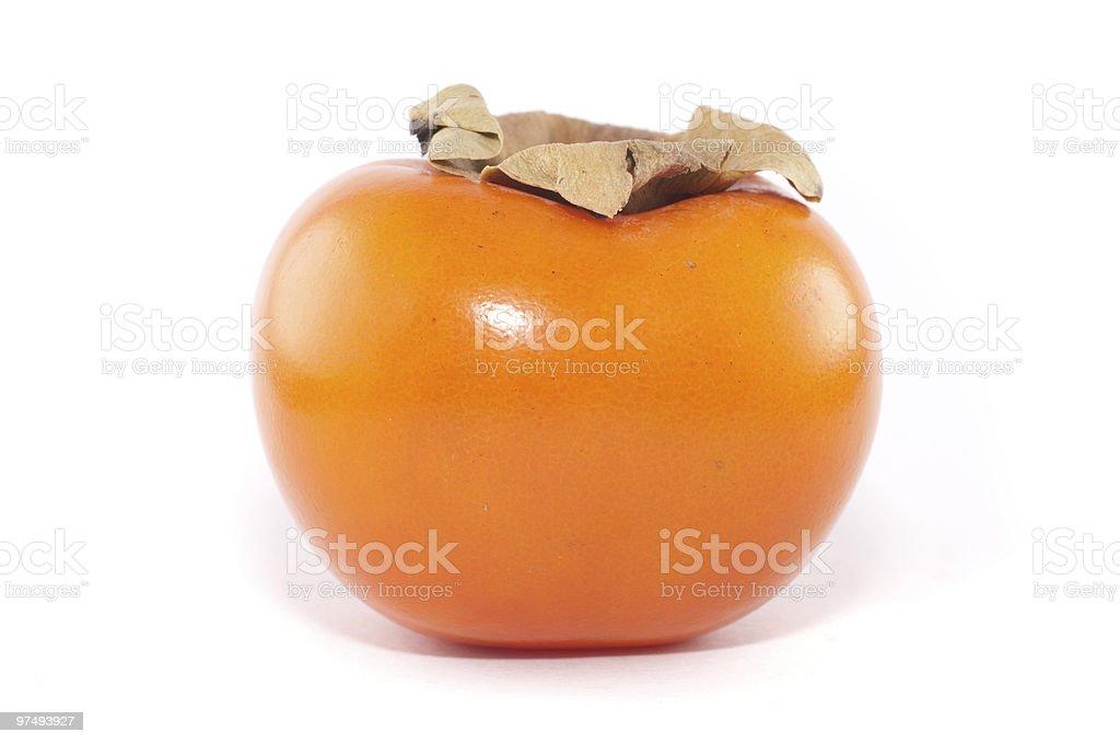 Sharon fruit royalty-free stock photo