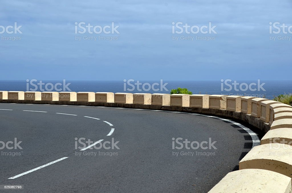 Sharp Bend stock photo