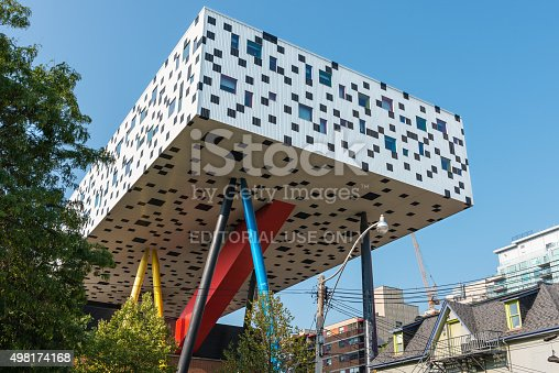 istock Sharp Centre for Design, Ontario College of Art 498174168