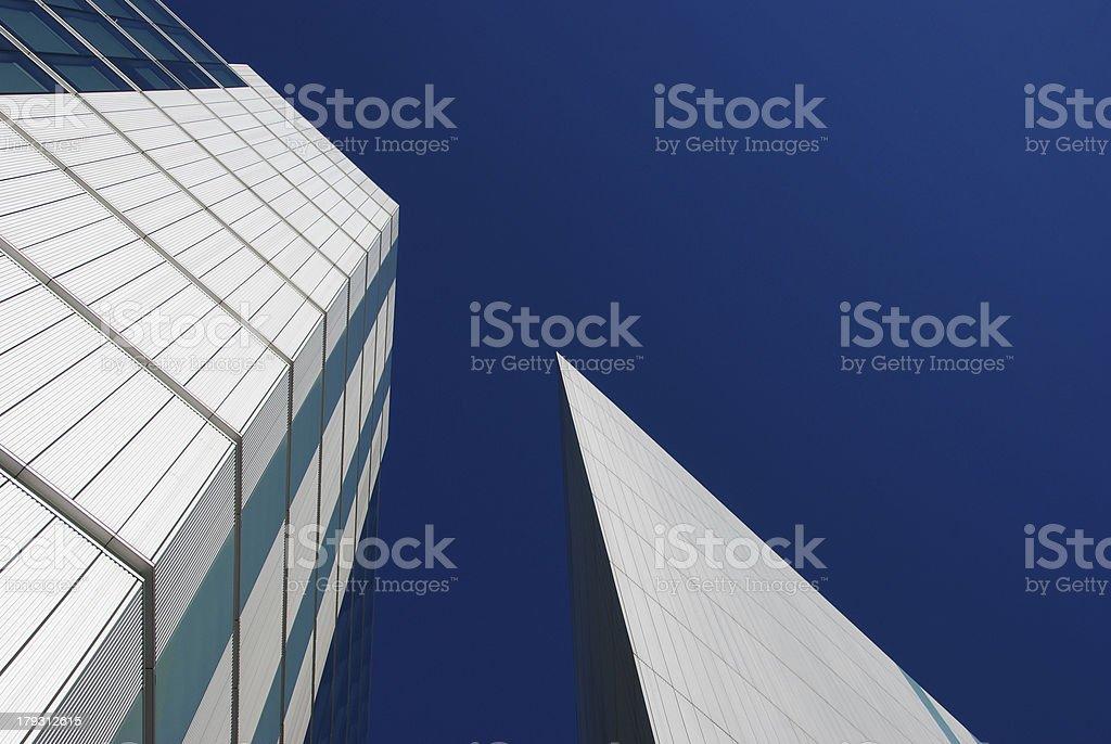 Sharp London Office Building royalty-free stock photo