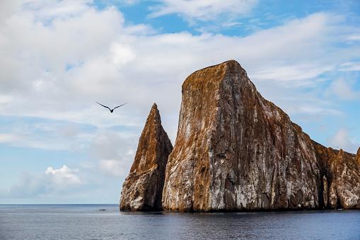 Sharp rock or islet called Sleeping Lion