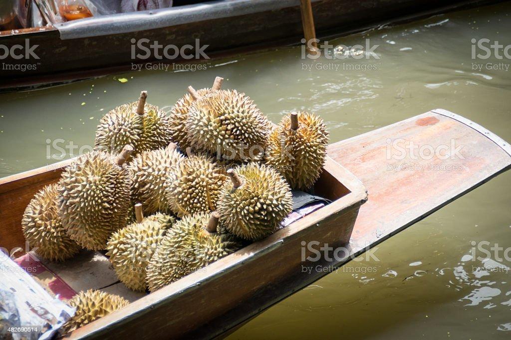 sharp thorns stock photo
