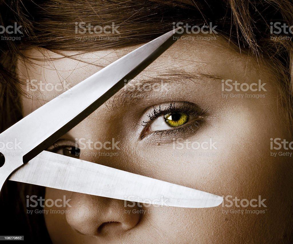 Sharp vision stock photo