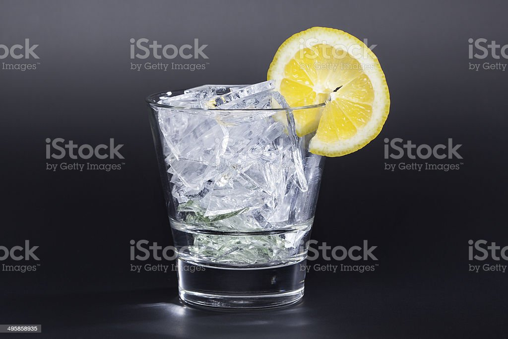 Sharp-edged drink stock photo