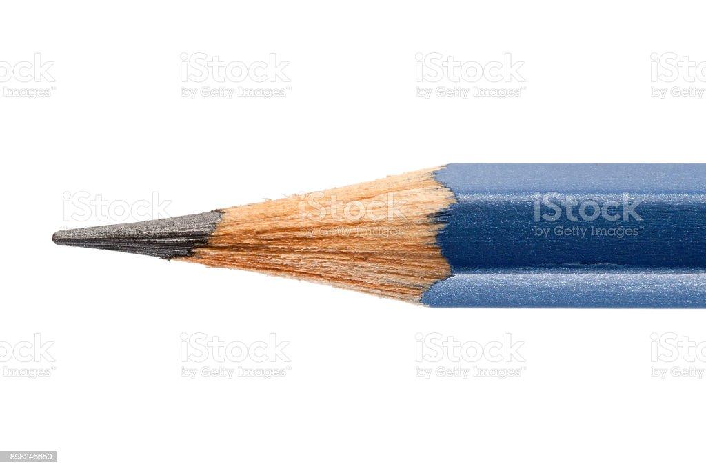 Sharpened Pencil Isolated on White Background stock photo