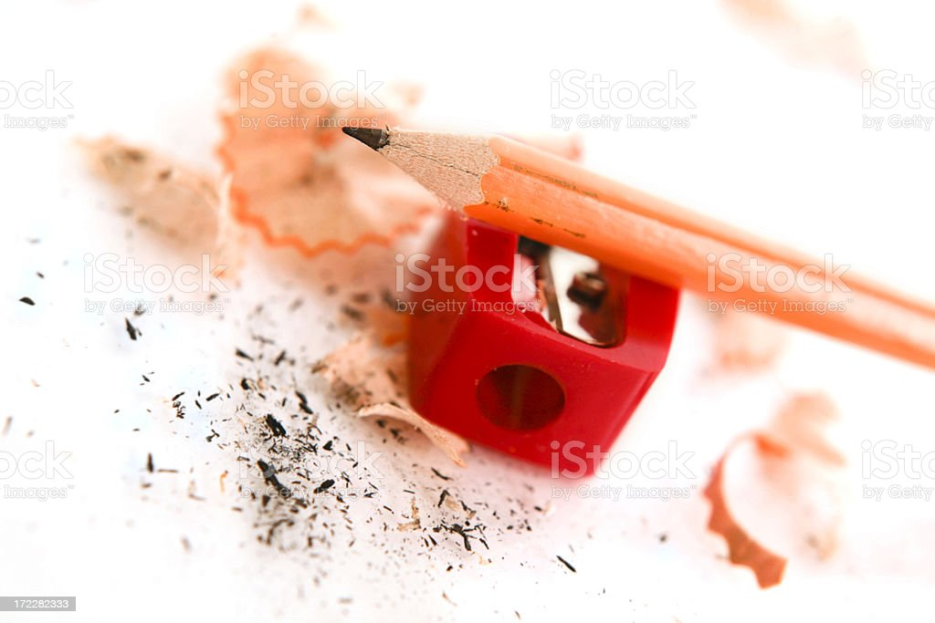 sharpened stock photo