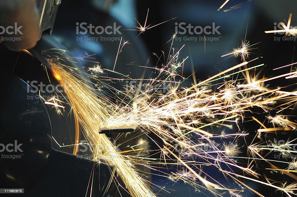 Sharpening stock photo