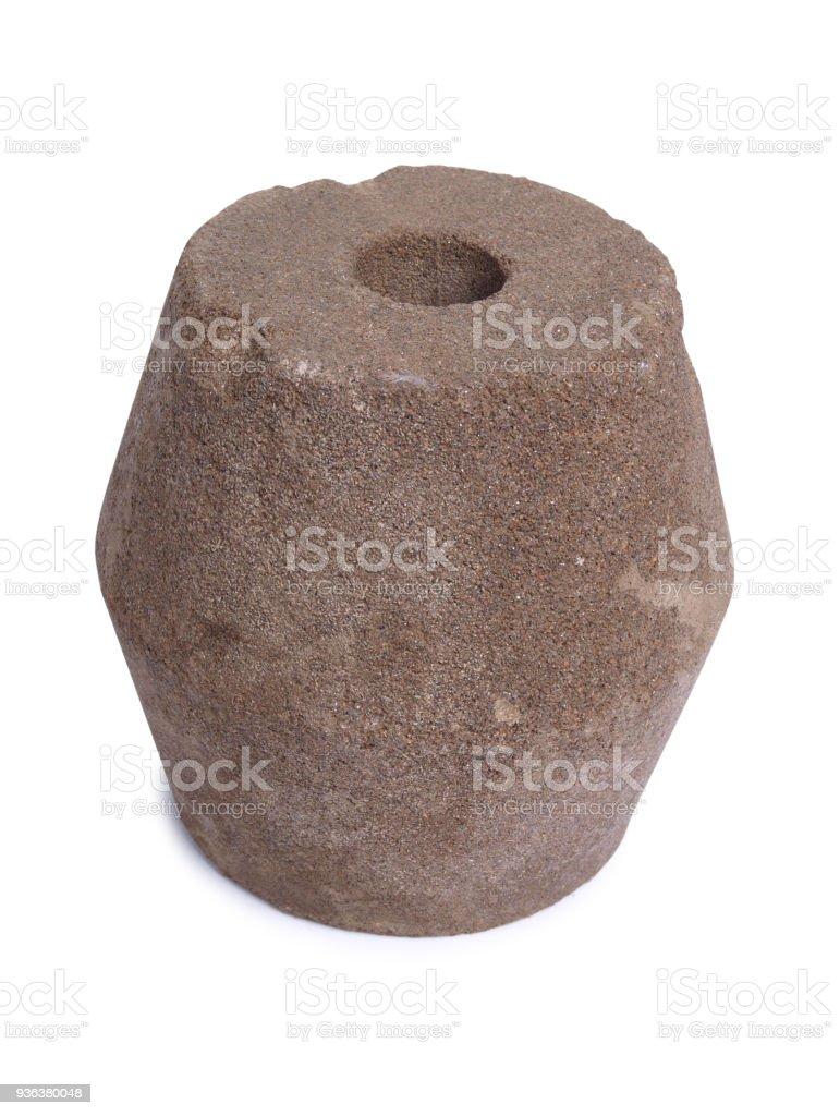 Sharpening stone stock photo