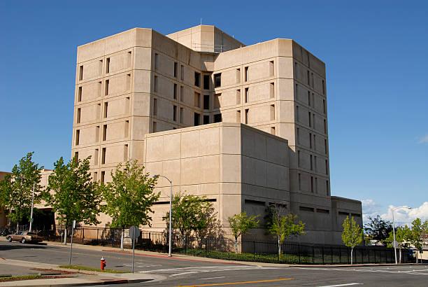 Shasta County Jail stock photo