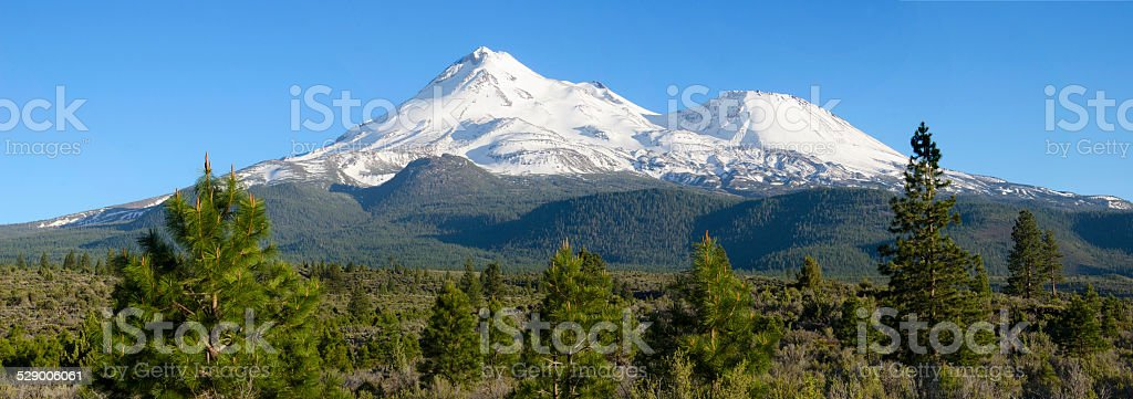 Shasta North Pano stock photo