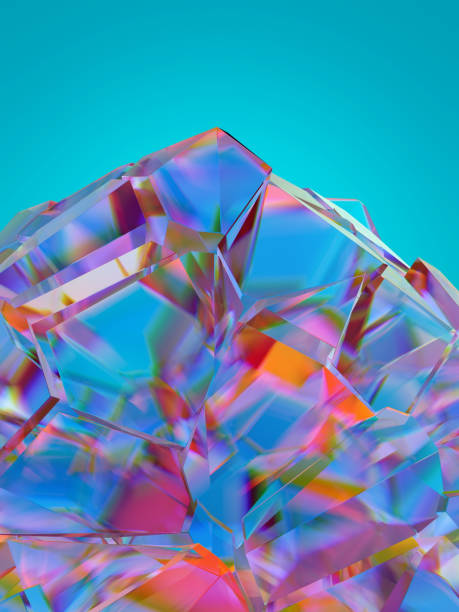zerbrochenes Glas, abstrakter Hintergrund – Foto