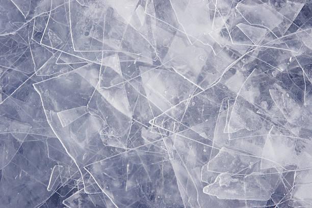 Erschöpften Ice – Foto