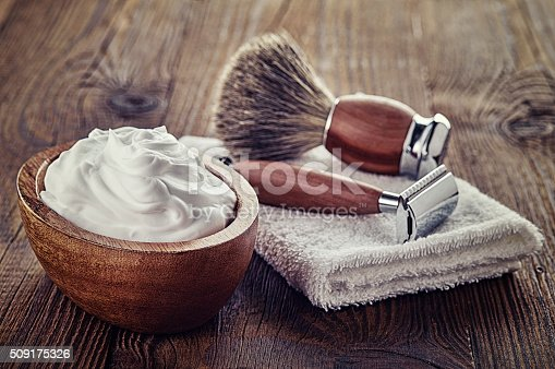 istock Shaving accessories 509175326