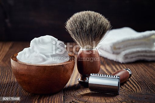 istock Shaving accessories 509175446