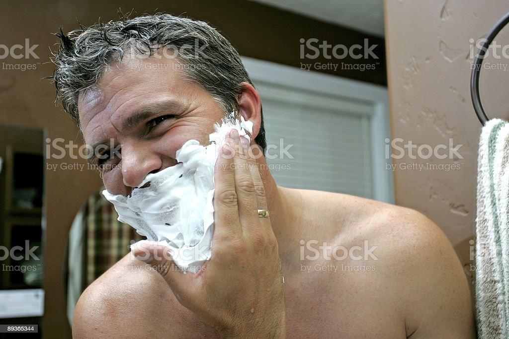 Krem do golenia twarzy zbiór zdjęć royalty-free