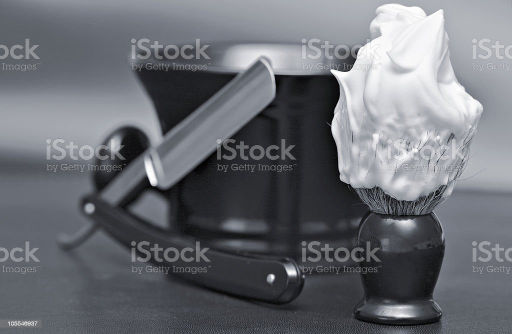 Shaving Cream royalty-free stock photo