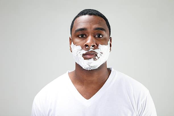 Shaving Cream stock photo