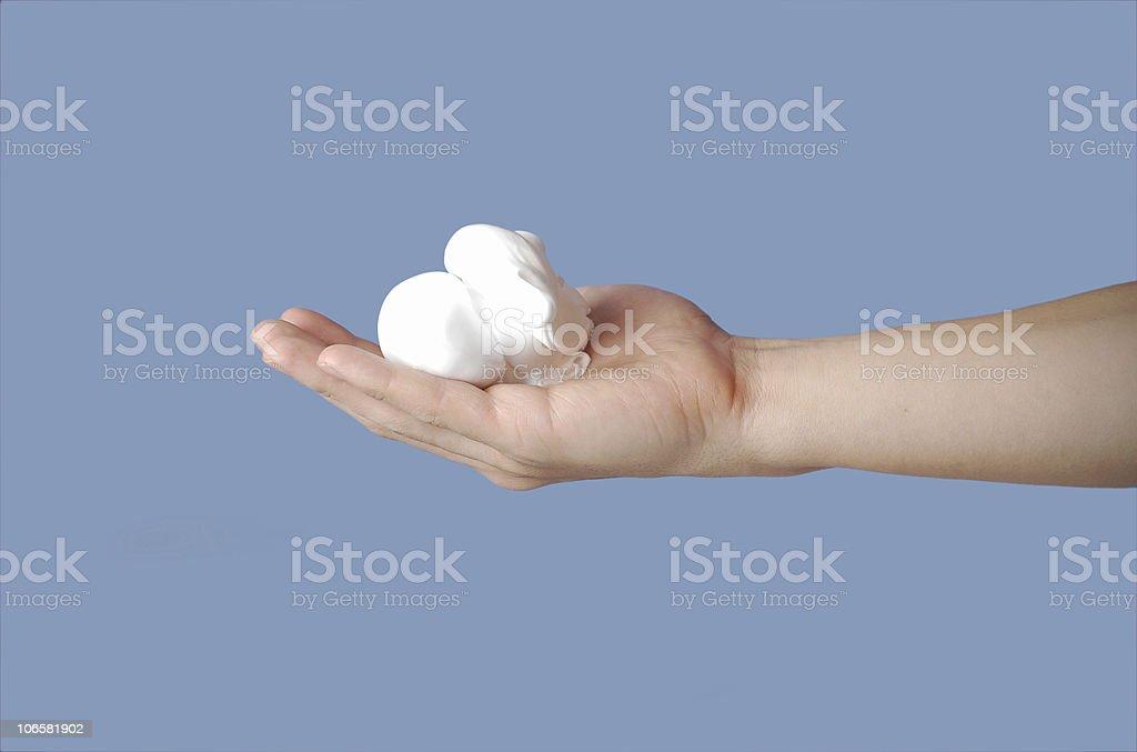 shaving foam royalty-free stock photo