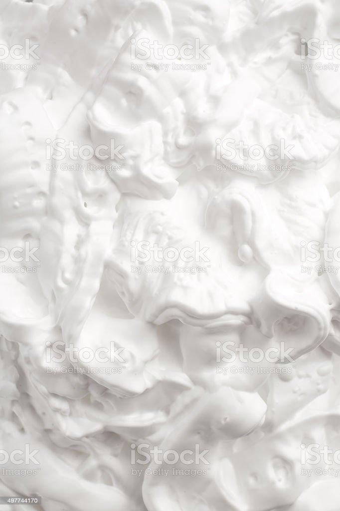 Shaving foam texture stock photo