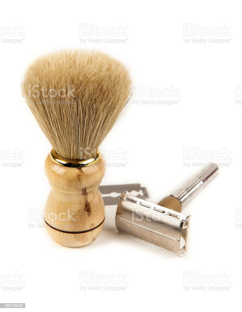 Shaving kit royalty-free stock photo
