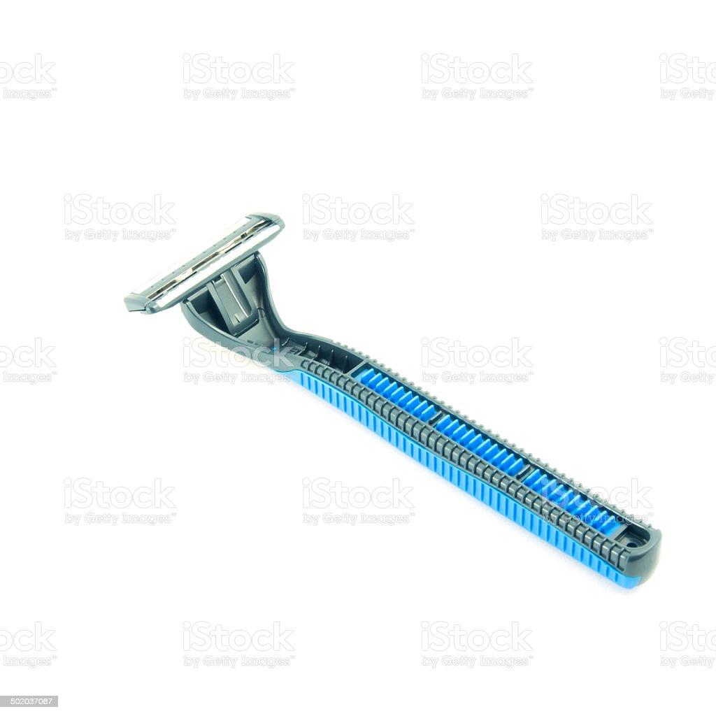 shaving razor stock photo
