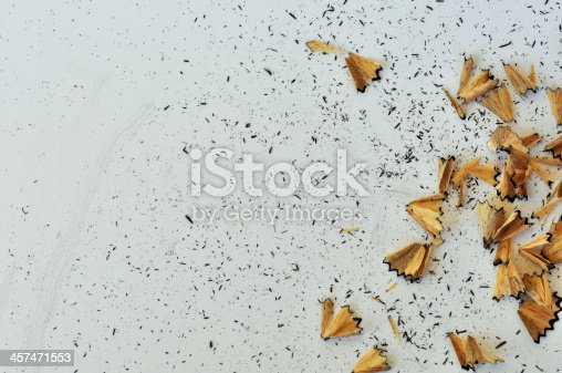 istock shavings from sharpened pencil 457471553
