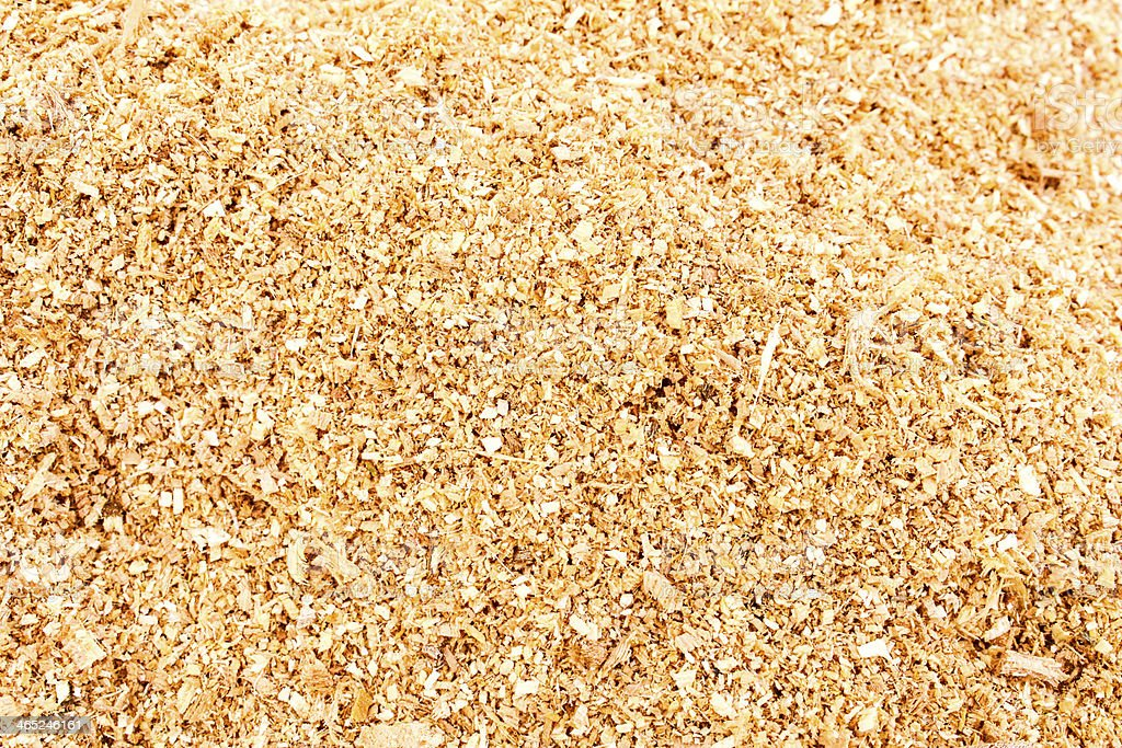 shavings in workshop wood sawdust texture background stock photo