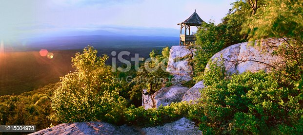 View from Shawangunk Mountains toward Rondout Valley
