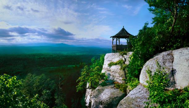 Shawangunk Mountain View stock photo