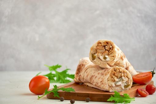 Tandoori Chicken Egg Roll In 45 Minutes