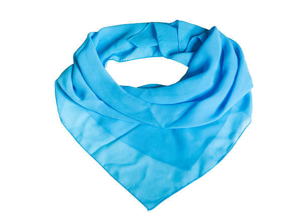 Shawl Blue shawl on the white background headscarf stock pictures, royalty-free photos & images