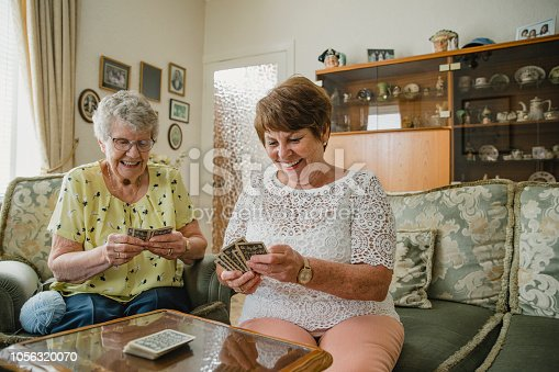 istock She Always Cheats at This Game! 1056320070