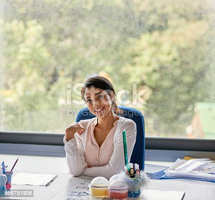 istock She always wanted to be a teacher 888791908
