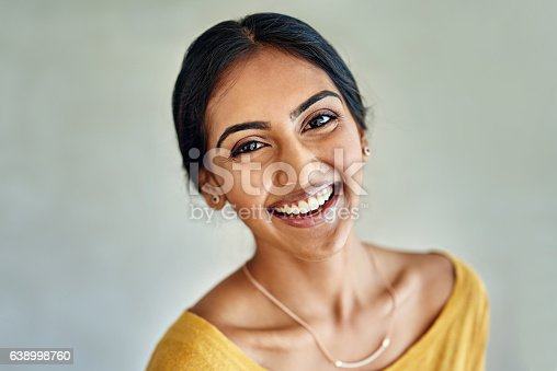 istock She attracts happiness into her life 638998760