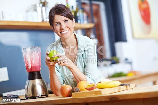 512979895istockphoto She believes in eating well 527723705