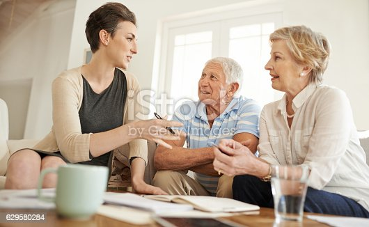 istock She cares for her clients retirement wellbeing 629580284
