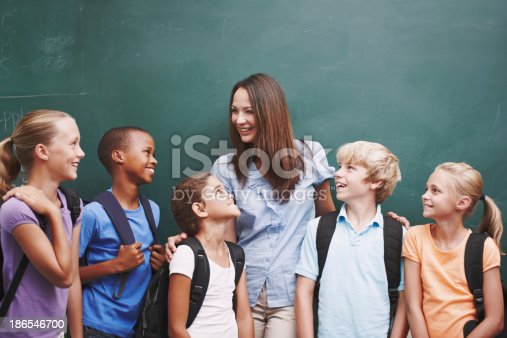 istock She creates such a happy classroom 186546700